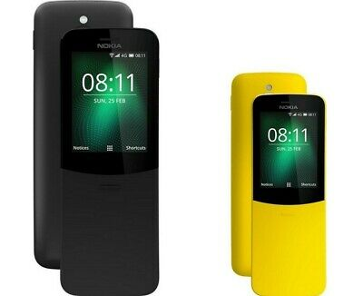 OPEN BOX- Nokia 8110 TA-1059 Unlocked 4GB DualSim 4G Phone International Version