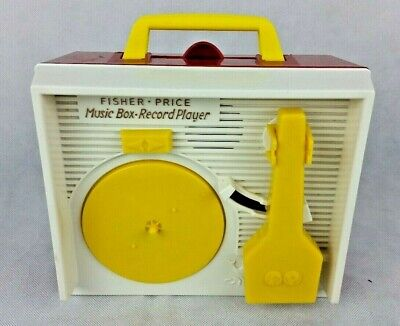 Fisher Price Music Box Record Player ONLY- Tested and Works