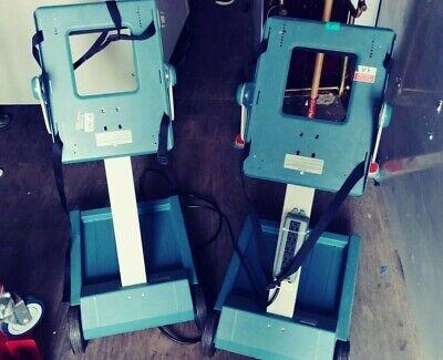 Lot Of 2 Tektronix K212 Portable Instrument Cart Dolly For Oscilloscope