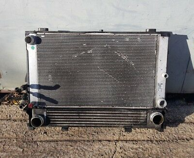 BMW 5 Series E60 530d Radiator Coolant Condensor Pack Intercooler LCI 2008