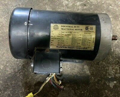 Worldwide Electric At2-18-56cb 2hp Motor 3ph 56c Frame 1725rpm 208230460v