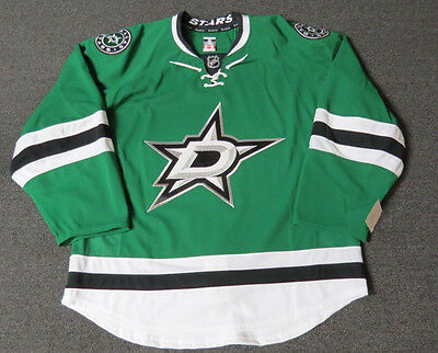 New Dallas Stars Authentic Team Issued Reebok Edge 2.0 Hockey Jersey NHL Green Authentic Reebok Nhl Hockey Jersey