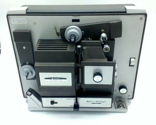 Vintage Bell & Howell Autoload Super 8 and 8mm Film Projector Model 456A