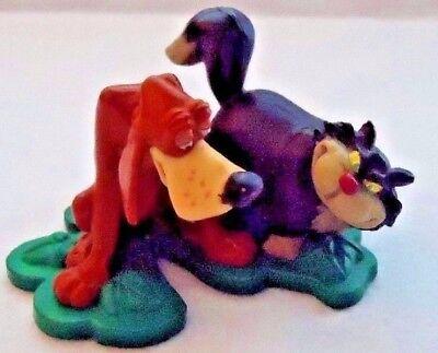 Disney Cinderella Lucifer Cat Bruno Dog Figure Cake Topper PVC