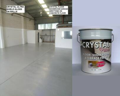 GARAGE FLOOR PAINT 10 LITRE OPEN 6 DAYS EASY TO USE HARD SURFACE