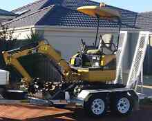Mini excavator Dry Hire Hocking Wanneroo Area Preview