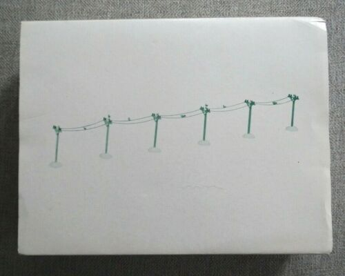 Department 56 - Telephone Poles Set of 6 - Village Accessories -  #52656  NEW