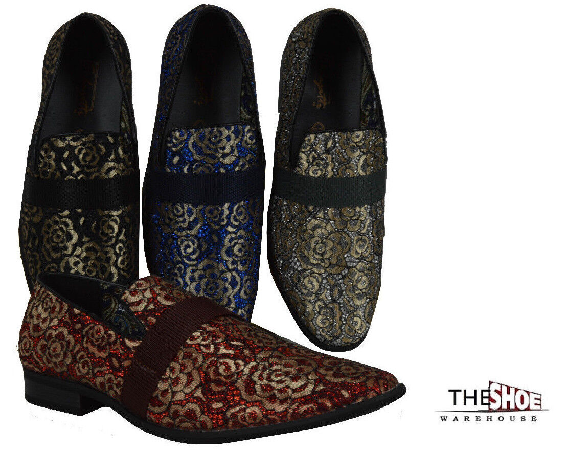 Men's Dress Shoes Formal Casual Slip-On Wedding Party Loafers Sedagatti SED4012