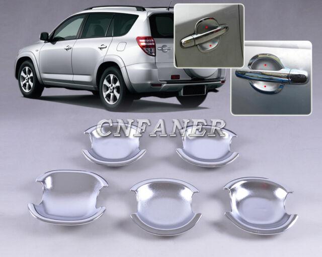 New Chrome Door Handle Cup Bowl for Toyota 5 Door RAV4 2006+