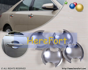 New Chrome Door Handle Cup Bowl for Toyota Camry 2013 2012+