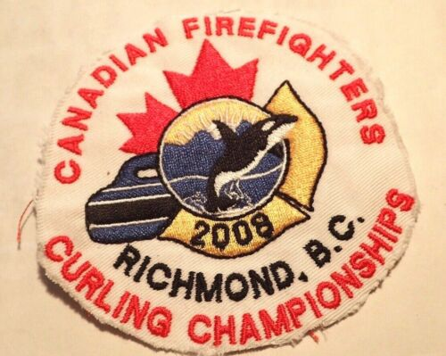Canadian Firefighters Curling Championships Richmond B.C. 2008