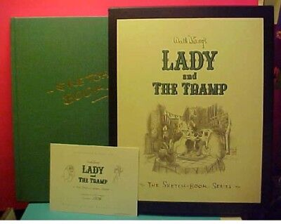 Walt Disney's Lady And The Tramp The Sketch-Book Series (#1378 of 2500)