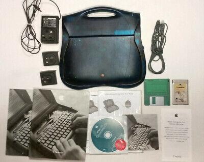 RARE Apple eMate 300 Newton OS vintage retro computer laptop PDA e-mate +more