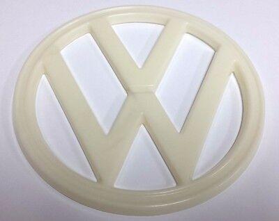 Front Nose Emblem (FRONT NOSE EMBLEM VW 182mm WHITE FITS VOLKSWAGEN TYPE2 BUS)