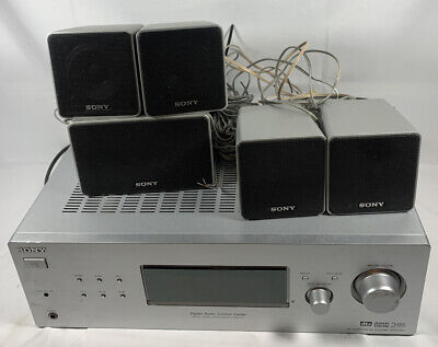 Sony STR-K700 AM/FM Stereo 340 Watt Digital Audio Receiver Includes 5 Speakers