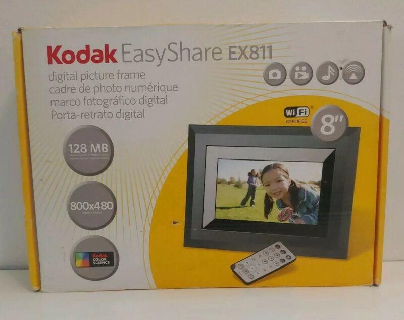 "Kodak EasyShare EX811 8"" Wi-Fi Digital Picture Frame 128 MB"