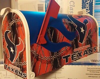 TEXANS  CUSTOM MAiLBOX~jersey hats ()
