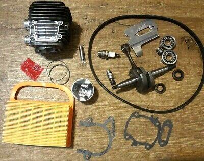 Stihl Ts420 Cylinder Nikasil Kit Crankshaft Overhaul Gasket Set Air Filter