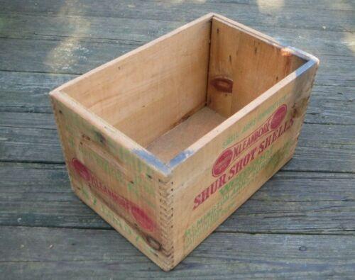 Remington UMC Shur Shot 12 ga Shot Shell Wood Box Crate