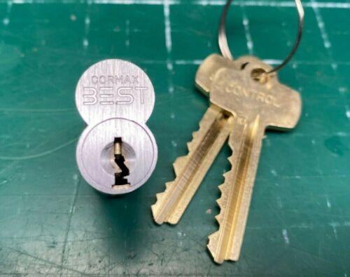 Best Cormax 7 pin Lock Cylinder - 626 K1 - Locksmith SFIC Core w/ Keys Padlock