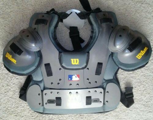 Used Wilson MLB West Vest Platinum Umpire Chest Protector