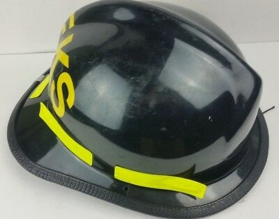 Cairns Brother 660 Firefighter Helmet Black Turnout Gear Display Decor Piece