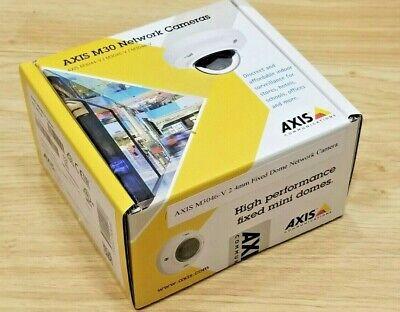 Axis M3046-v 2.4mm Fixed Network Camera Quad Hd4mp New