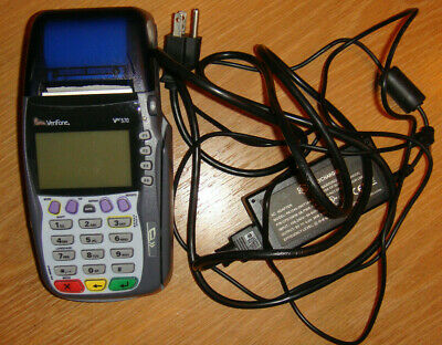 Verifone Vx570 Omni 5700 Credit Card Processor Reader With Original Cord