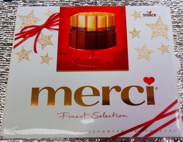Storck - Merci Finest Selection Milk Dark Chocolate 250g - German ...