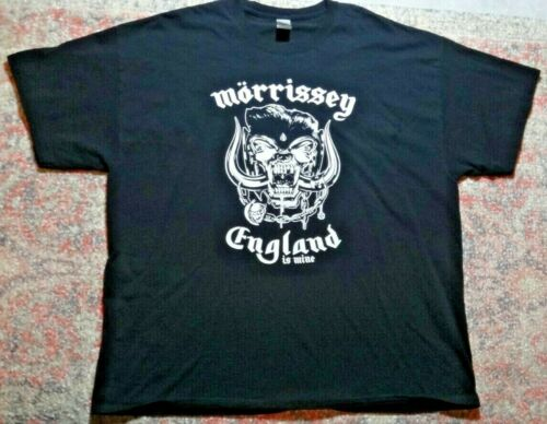 WEAR DINNER MOZÖRHEAD T-SHIRT~Morrissey &Motorhead Mashup~England Is Mine~Sz XXL