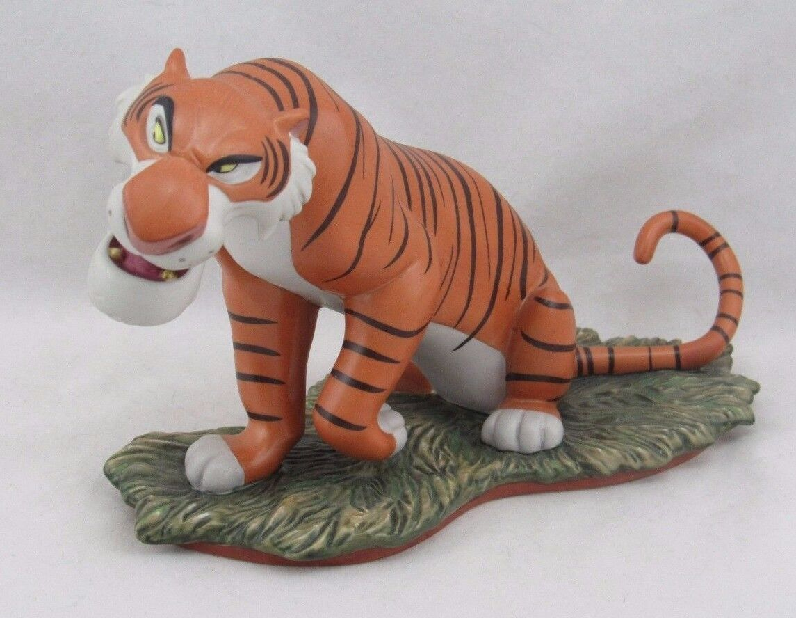 "wdcc ""everyone runs from shere khan"" from disney's the jungle book"