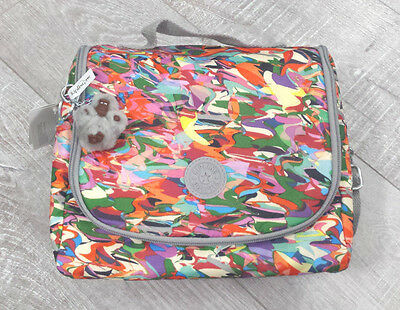 Kipling Kichirou Lunch bag Print- AC7256 - 3WS Wavepool Splash