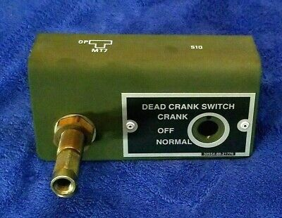 Mep-803a Dead Crank Bracket Assy Pn88-20116 Military Generator Mep-802a
