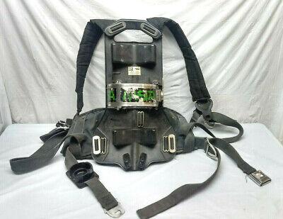 Msa Frame Harness 4500psi Scba Air Pack Bottle Cylinder Tank Scott Firefighter
