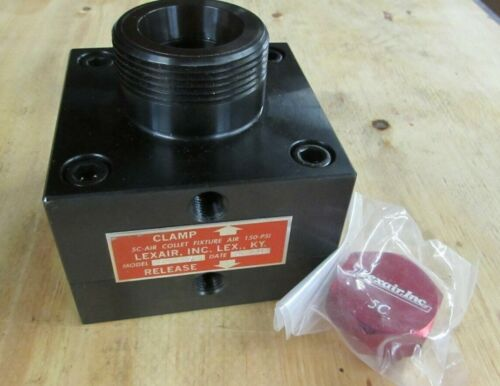 Lexair 5C Pneumatic/Hydraulic Pull Back Collet Block