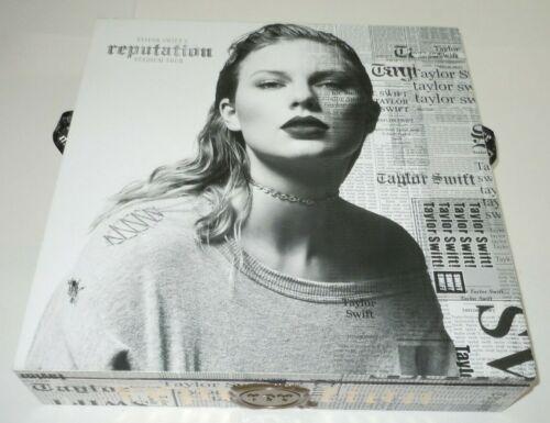 Taylor Swift Reputation Stadium Tour VIP Box CD Book Lenticular Ticket Collector