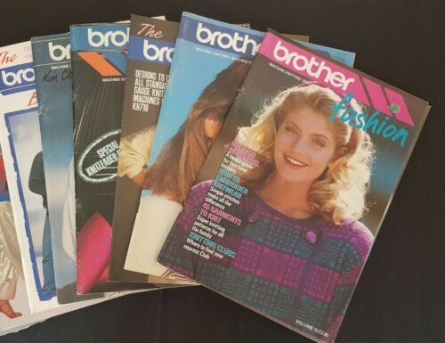 BK218 BROTHER KNITTING MACHINE BOOKS BROTHER ELECTROKNIT PATTERNS & MAGAZINES