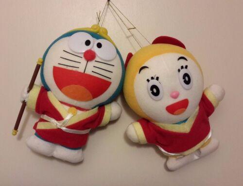 "Doraemon & Darami 7"" Plush Epoch Japan (Made in Korea)"