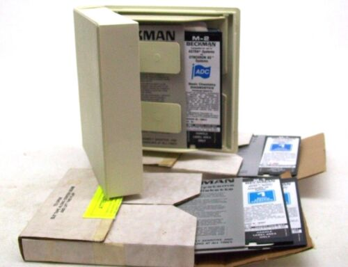 LOT OF BECKMAN SOFTWARE DISKETTES LAB EQUIPMENT ANALYTICAL BM