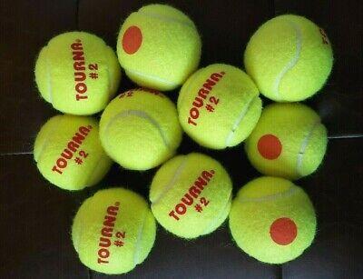Dunlop Stage 2 Orange 12 Tennisbälle Tennis Trainer Balls