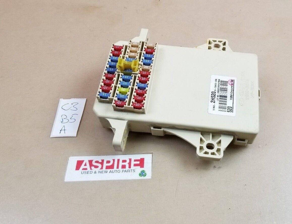*2010-2013 Kia Forte Relay Unit Module Fusebox Fuse box 91950-2H520 OEM