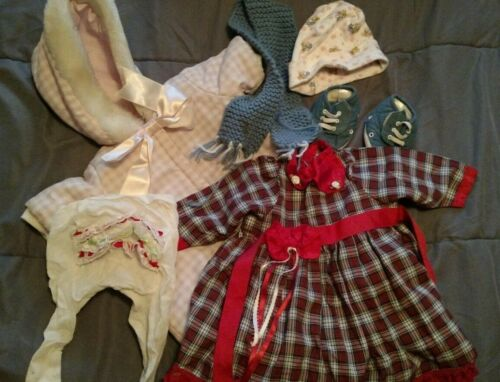 "Baby Doll Clothes - some handsewn/knitted -Chou , Cabbage Patch, 16"" - 18"""