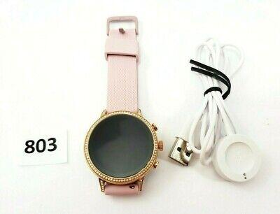 Fossil FTW6015 Women's Gen 4 Venture HR Stainless Steel Touchscreen Smartwatch