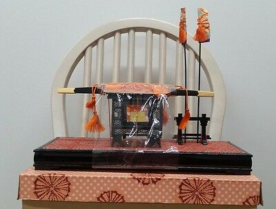 Hina Hinamatsuri Hinaningyo GOKAGO Palanquin Exc. condition with Box
