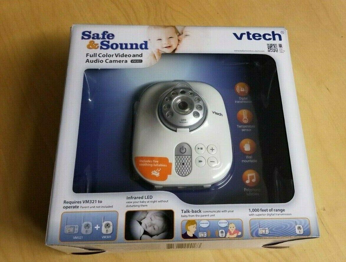 VTech VM301 Safe & Sound Additional Video Camera for VM321
