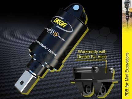 Digga Auger Drive Unit PD5 SUIT 5 to 6 Ton Excavators [ATTAUG]