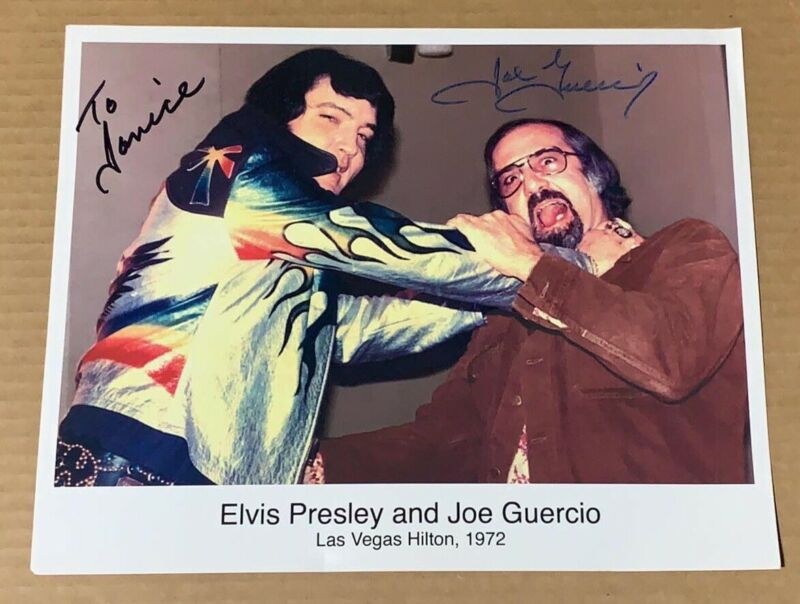 SIGNED Joe Guercio Photo / Elvis Musical Conductor / Direct From Memphis