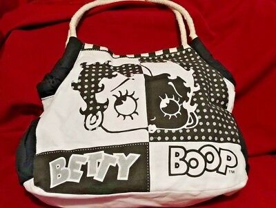 Betty Boop Cloth Shoulder Bag/ Tote Great Graphics!