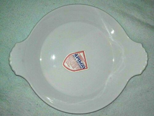 French+porcelain+Apilco+double+handed+round+oven%2Fgratin+dish+%28new%29+-+20cm%2Fsize+7