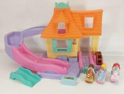 Fisher Price Little People Disney Princess Belle's Klip Klop Cottage Cinderella